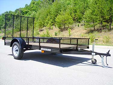 knoxville trailer sales - medium utility trailer